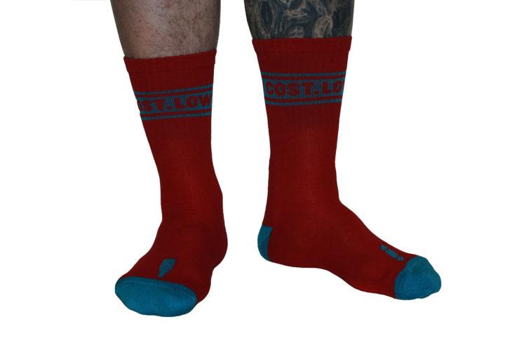 LOWCOST Socks OG´S Red